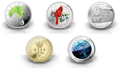 2008 Canadian Coins