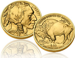 American Buffalo one-ounce bullion coin