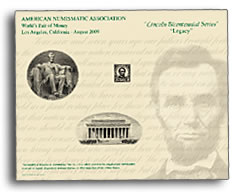 ANA World's Fair of Money Intaglio Print Card