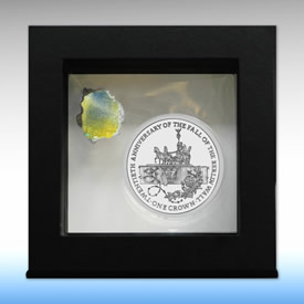 Isle of Man Fall of the Berlin Wall Coin Packaging