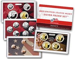 US Mint 2009 Silver Proof Set