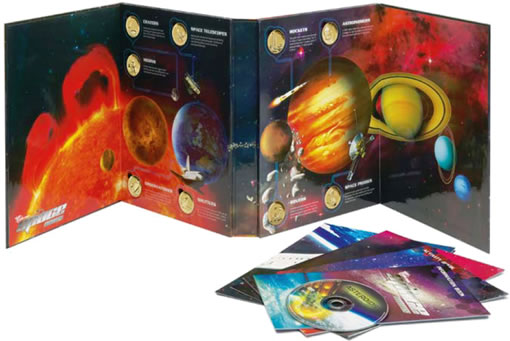 The Young Collectors Space Coins Album