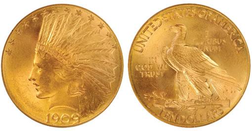 1909-D Indian Eagle