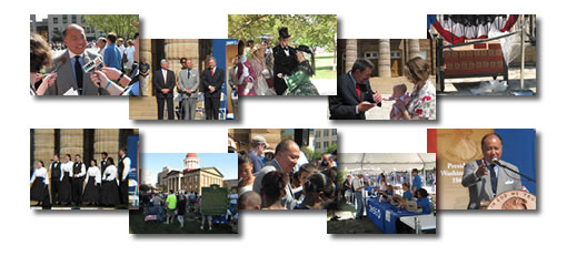 2009 Lincoln Cent Professional Life Illinois Event Photo Collage