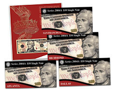 Series 2004A $10 Single Notes for Collectors - Final Installment