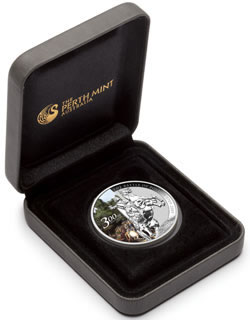Battle of Poltava 1 oz Silver Bullion Coin Packaging