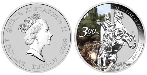 Battle of Poltava 1 oz Silver Bullion Coin