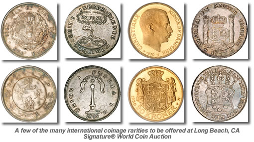 International Coinage Rarities