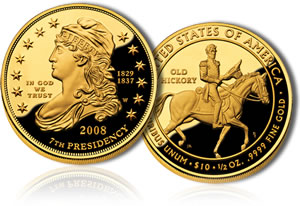 Jackson's Liberty First Spouse Gold Proof