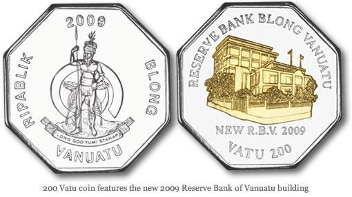 200 Vatu coin