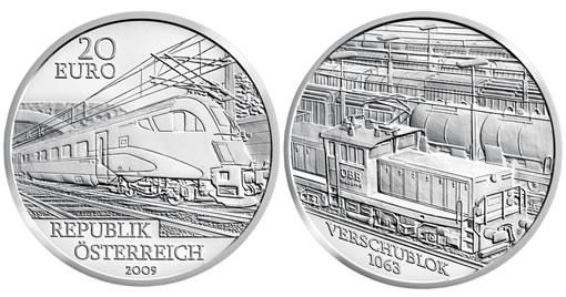 Austrian Railway of the Future Silver Commemorative Coin