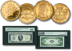 Heritage Long Beach Numismatic Auction Rarities