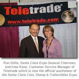 Ron Gillio and Irma Kane