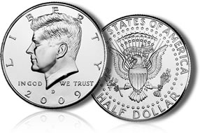 2009 Kennedy Half Dolla