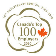 Royal Canadian Mint Named Top 100 Employers for 2010