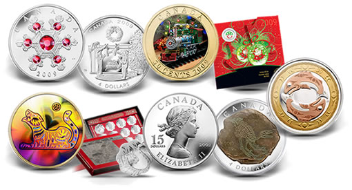 Royal Canadian Mint 2009 Holiday Coins