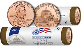 Lincoln Presidency Cent and Rolls