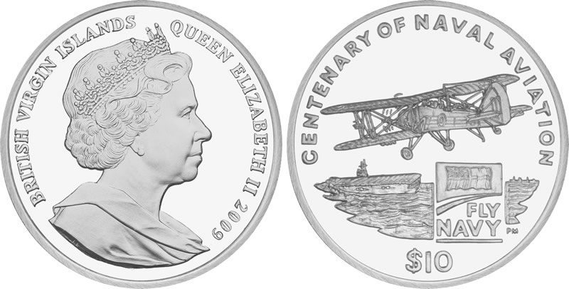British Virgin Islands Coins Commemorate Centenary of Naval ...