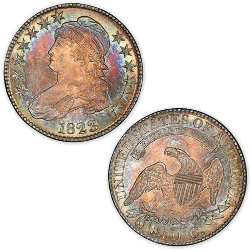 1823 half dollar