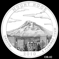 Mount Hood Quarter Design OR-02