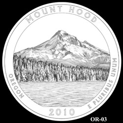Mount Hood Quarter Design OR-03