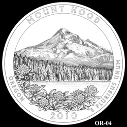Mount Hood Quarter Design OR-04