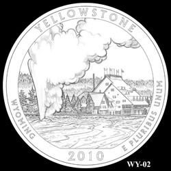 Yellowstone Quarter Design WY-02