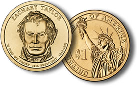 Zachary Taylor Presidential Dollar