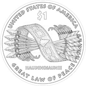 2010 Native American $1 Design