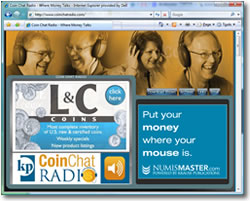 Coin Chat Radio Web site