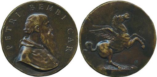 Pietro Bembo (1470 - 1547). Bronze