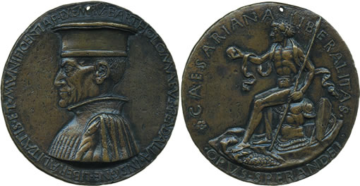 Sperandio, Bartolommeo Pendaglia medal