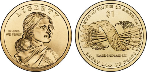 2010 Native American $1 Coin