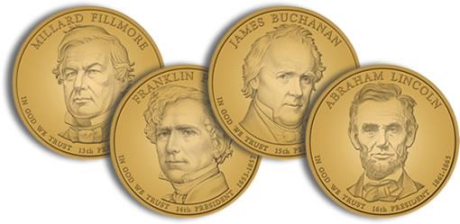 2010 Presidential Dollar Design Images