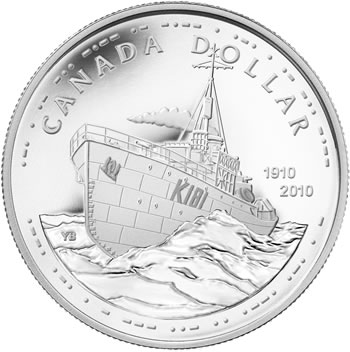 2010 Proof Silver Dollar