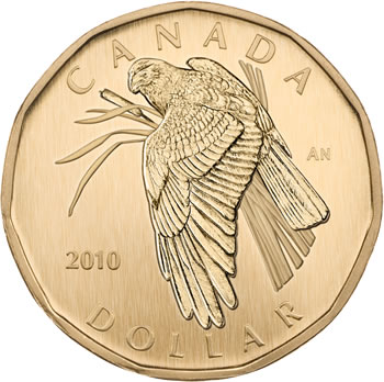 Northern Harrier $1 coin
