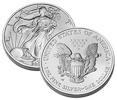 American Eagle Silver Uncirculated coin