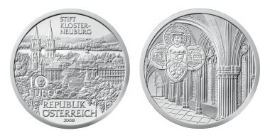 Austrian Mint The Abbey of Klosterneuberg Silver Coin