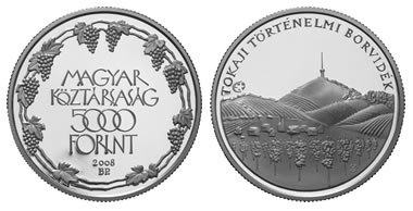 Hungarian 5,000 forint .925 fine silver