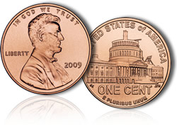 2009 Lincoln Presidency Cent