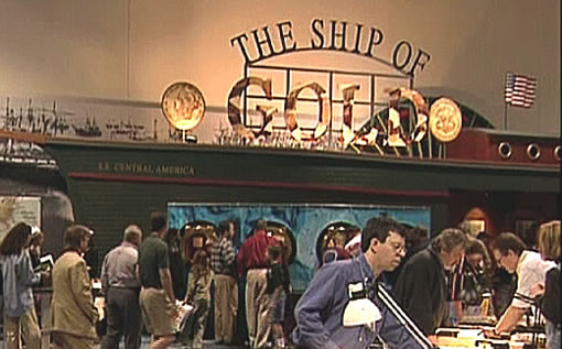 Ship of Gold Display