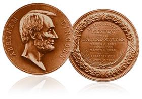 Abraham Lincoln Bronze Medal