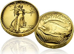 UHR $20 Double Eagle Gold Coin