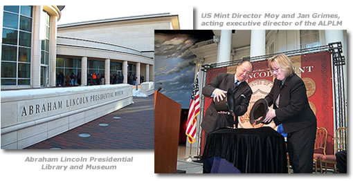 2010 Lincoln Cent Ceremony