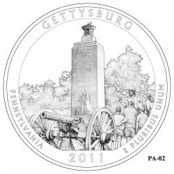 Gettysburg National Military Park Quarter Design Candidate Pennsylvania PA-02