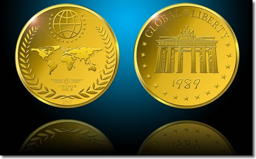 Global Metal Agency's Global Liberty Gold Coin