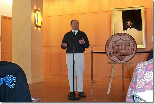 United States Mint Director Ed Moy at Springfield, Illinois Coin Forum