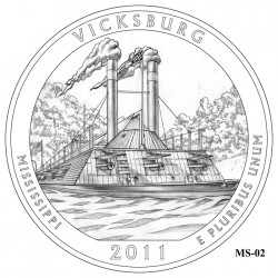 Vicksburg National Military Park Quarter Design Candidate Mississippi MS-02