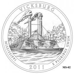 Vicksburg National Military Park Quarter Design Candidate Mississippi MS-02
