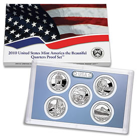 2010 America the Beautiful Quarters Proof Set